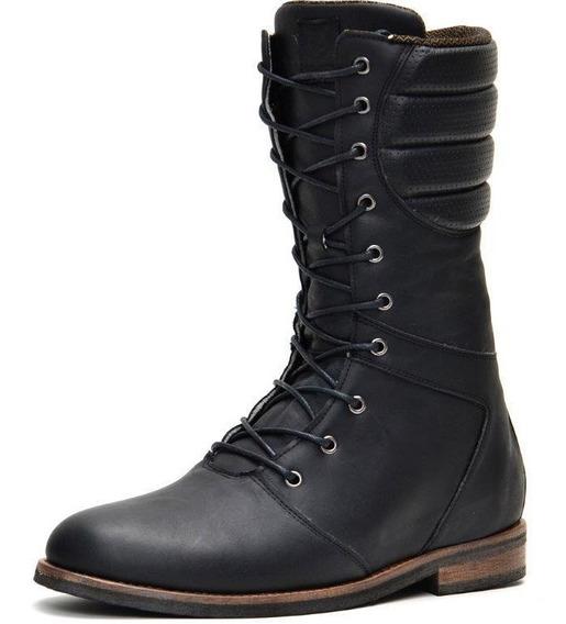 Bota Coturno Masculino Europa Tamanho Especial Shoes Grand