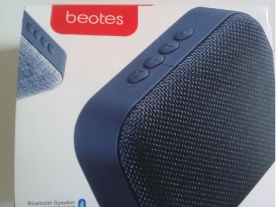 Mini Caixa De Som Bluetooth Beotes T-10