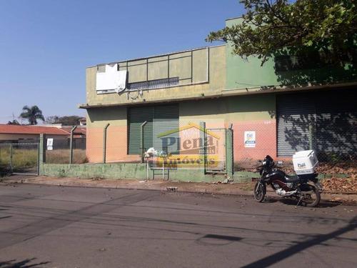 Barracão Para Alugar, 1300 M² - Loteamento Remanso Campineiro - Hortolândia/sp - Ba0203