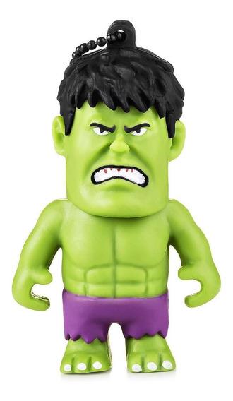 Pendrive Multilaser Marvel Vingadores Hulk Pd082 8gb Usb