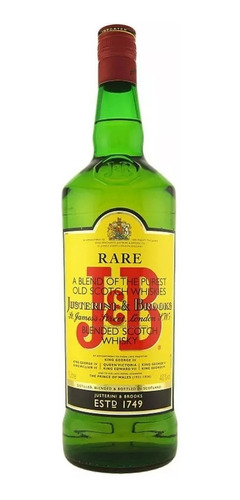 Whisky J&b (1-litro) 100 % Original