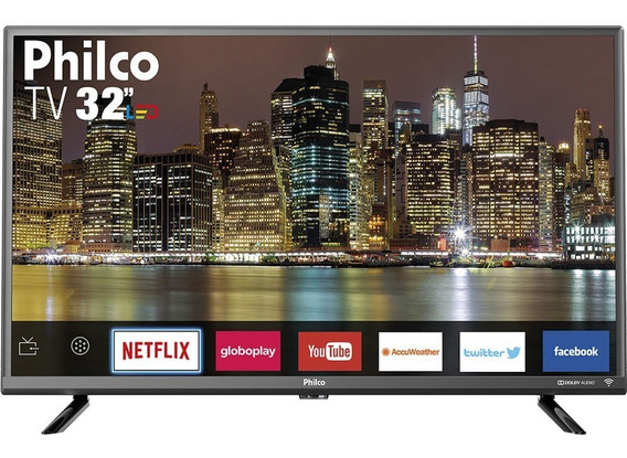Smart Tv Led 32 Polegadas Philco Ptv32g50sns Hd