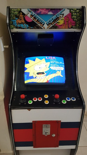Árcade Los Simpson Placa Konami Japan