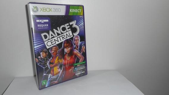 Dance Central 3 Xbox 360 Mídia Física Novo Lacrado