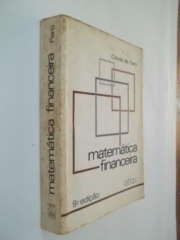 * Matemática Financeira - Clovis De Faro - Livro