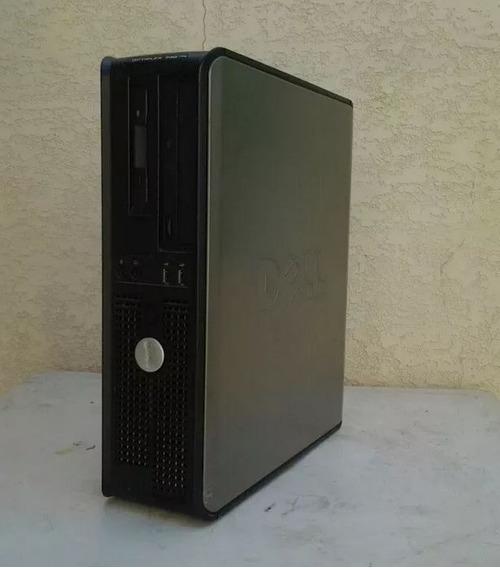 Cpu Dell - 3gb Ram - 80gb Hd - Amd 64