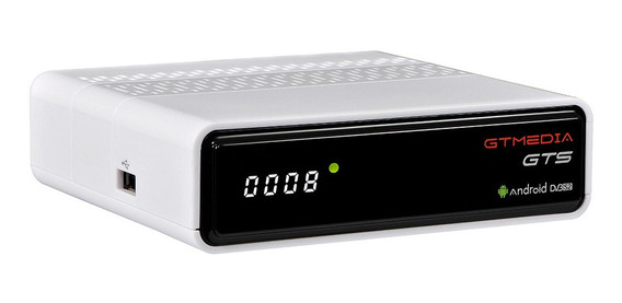 Gt Media Gts Dvb-s2 Satellite Receiver & Android 6.0 Tv Box