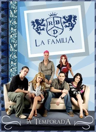 Dvd Rbd La Familia (dublado)