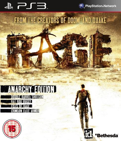 Jogo Rage Playstation 3 Ps3 Física Bethesda Frete Grátis