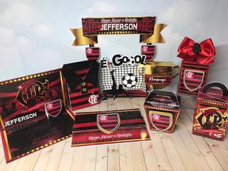 Kit Digital Arquivo Silhouette Futebol Flamengo 12