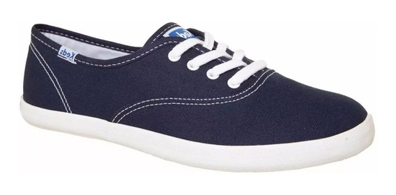 Tênis Keds Champion Woman Canvas - Azul Marinho Original