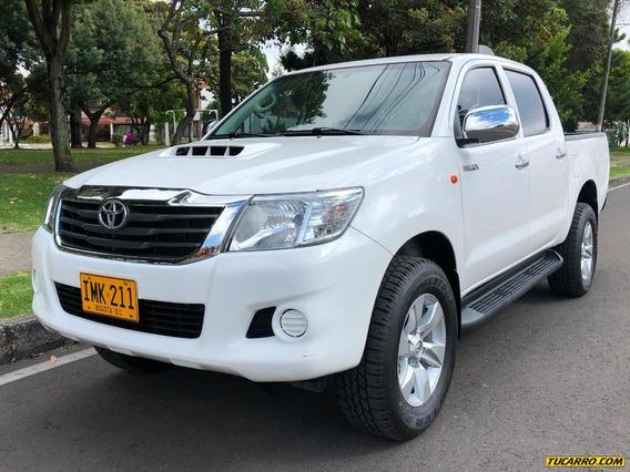 Toyota Hilux 4x4 2500cc Tdi Euro4 Mt Aa Abs