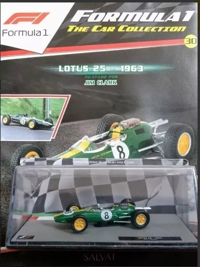 Coleccion Autos De Formula 1 Lotus 25 1963 Jim Clark N° 30