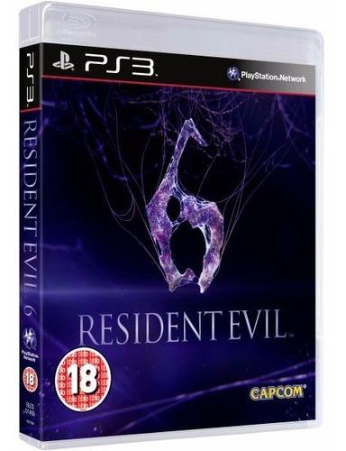 Resident Evil 6 Ps3 Fisico Sellado Original Cuotas Ade