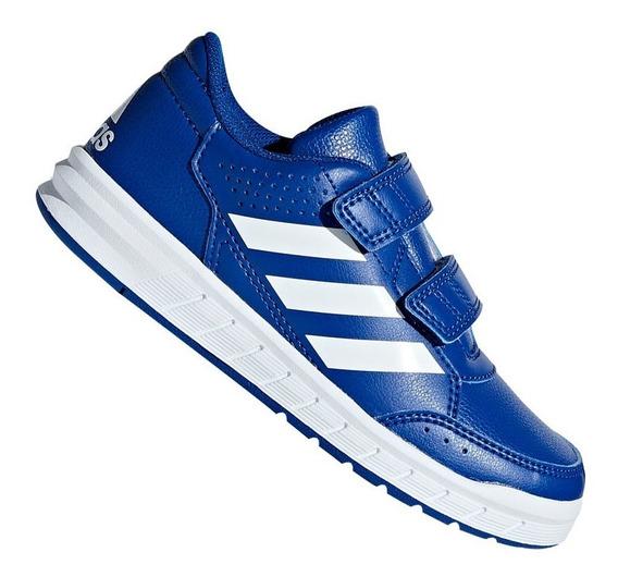 Tênis adidas Infantil Altasport Menino Azul B42112 Original