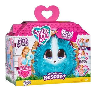 Furballs Real Rescue Animal Peluche Interactivo 24004 Edu