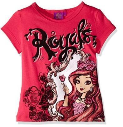 Playera Royals Ever After High Rosa De Niña Talla 4