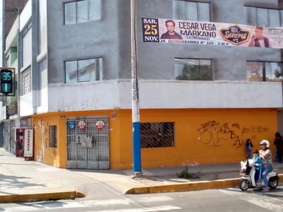 Alquiler Local Esquina En Transitada Comercial Avenida Peru