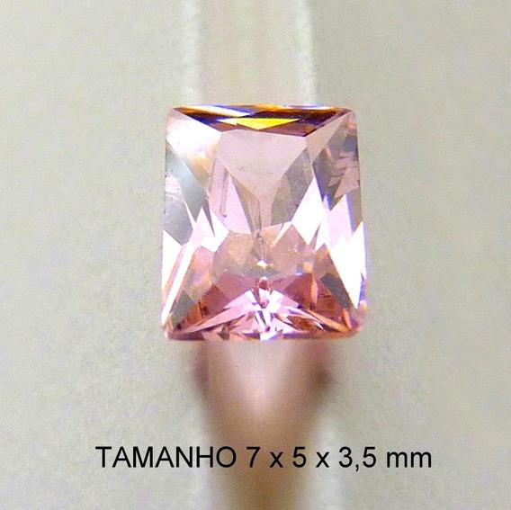Safira Rosa Zircônia Pedra Preciosa 5970