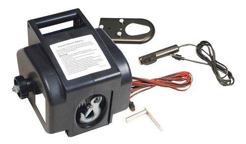 Malacate Electrico 3000 Lbs 12v C. Remoto (no Envios)