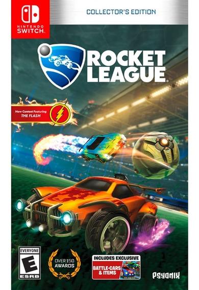 Rocket League Collectors Edition - Switch Mídia Física