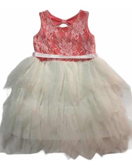Vestido Fiesta Nena T4 (ge365)