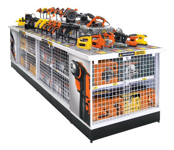 Super Exhibidor Con Hta. Eléctrica #2 Truper 55894