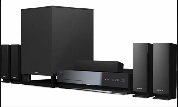 Home Theater Sony Bdv-e570 5.1 Canales + Blu-ray Hd 3d Y Wi