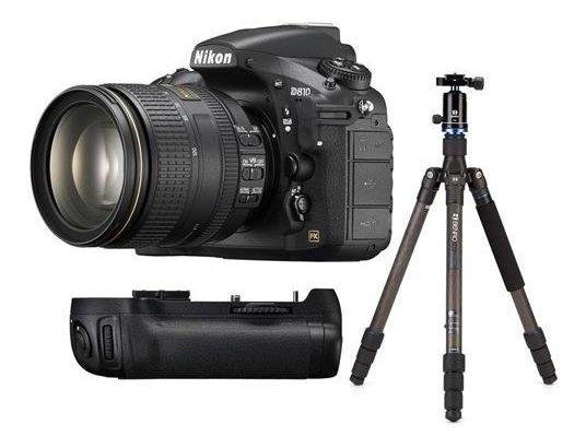 Nikon D810 Dslr Af-s Nikkor 24-120mm F 4g Ed Vr Lente Bund ®