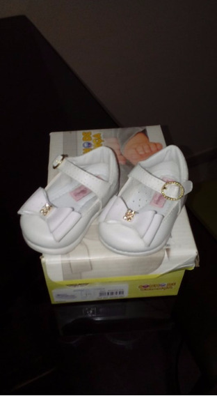 Sapatilha Boneca Infantil Menina Batizado