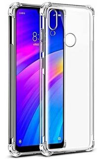 Kit Película D Vidro + Capa Anti-impacto Xiaomi Redmi Note 7