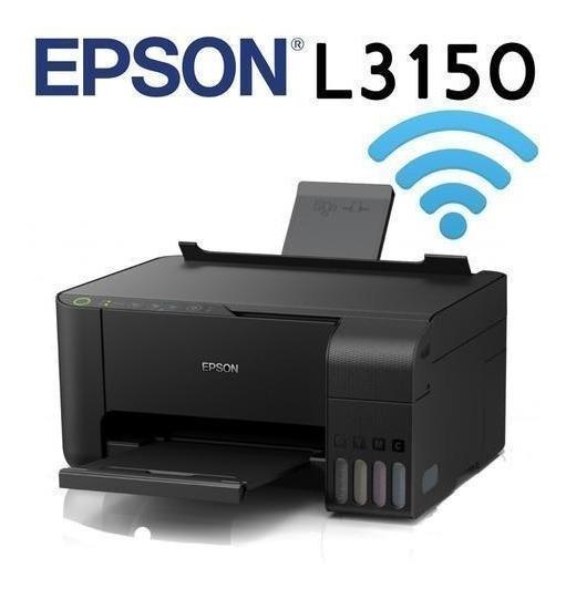 Impressora Multifuncional Epson Wifi L3150 -tinta Comestivel