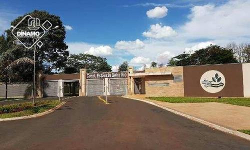 Chácara Com 3 Dormitórios À Venda, Condomínio Estância Beira Rio - Jardinópolis/sp - Ch0052