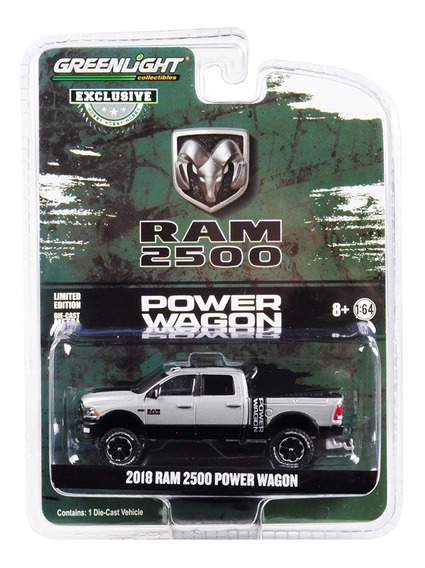 Greenlight 2018 Ram 2500 Power Wagon Mide 9 Cm Escala 1:64