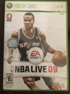 Videojuego Nba Live 09 Para Xbox 360