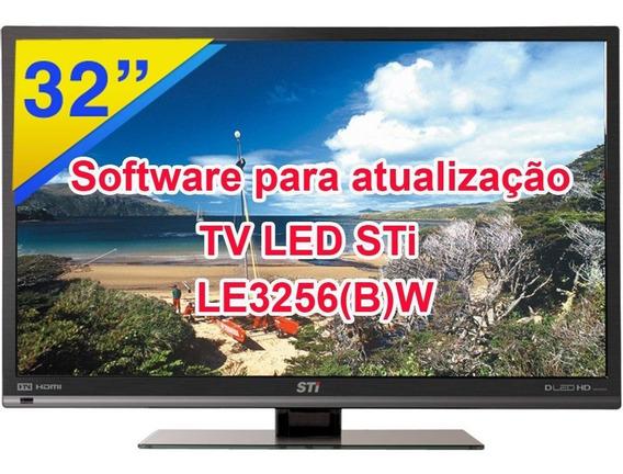 Software Para Atualização Tv Led Sti Le3256 (b)w