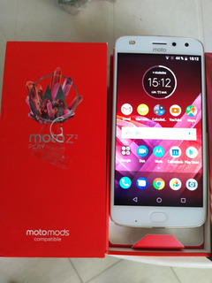Motorola Moto Z2 Libre, Xt1710-09 Excelente En Caja Blanco