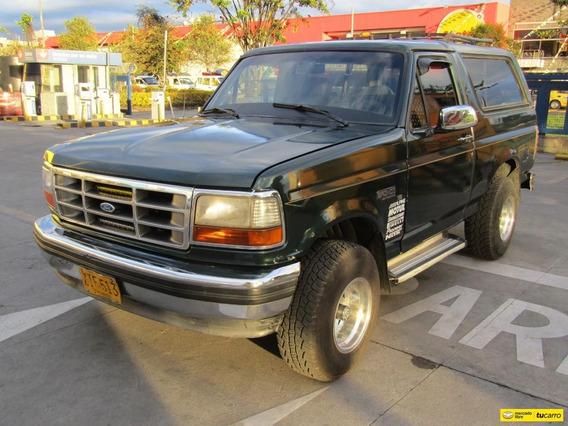 Ford Bronco Xlt Mt 5.0 4x4