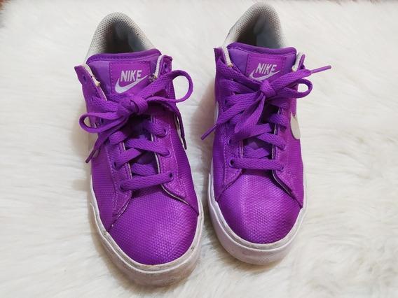 Zapatillas Nike Violetas Talle 38