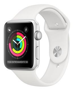 Reloj Apple Watch Mtey2cl/a S3 Gps 38mm Aluminio Plata