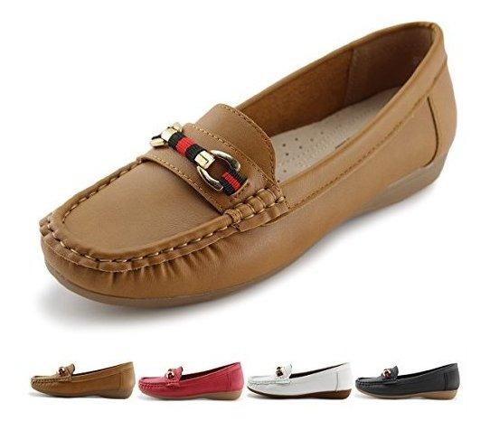 Jabasic Zapatos Tipo Mocasin Planos Y Casuales Para Mujer