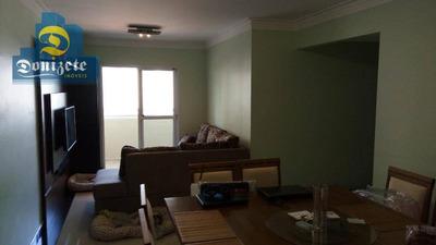 Apartamento Com 3 Dormitórios À Venda, 92 M² Por R$ 530.000 - Vila Assunção - Santo André/sp - Ap10161