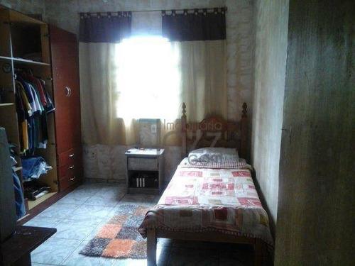 Casa Residencial À Venda, Chácara Santa Margarida, Campinas. - Ca2161