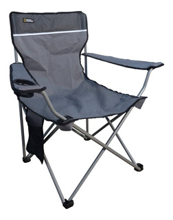 Silla National Geographic Plegable Denver Gris Cng922