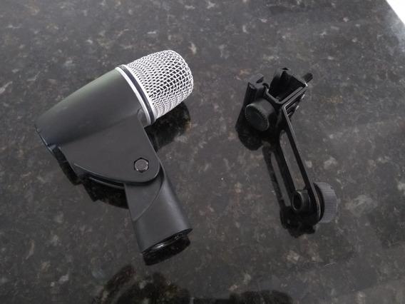 Microfone Bateria Jts Tx6 Com Clamp / Tx 6 / Microfone Tom