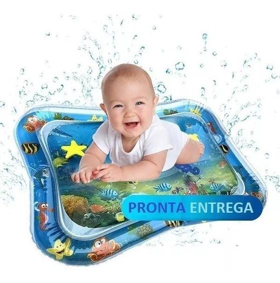 Tapete Água Inflável Esteira Almofada Infantil Criança Bebê