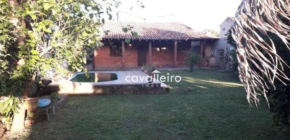 Casa Com 4 Dormitórios À Venda, 209 M² - Cordeirinho (ponta Negra) - Maricá/rj - Ca3941