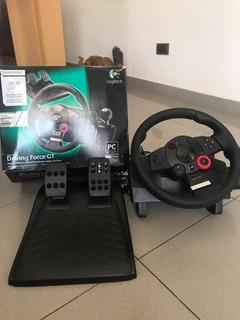 Volante Logitech Driving Force Gt - Muy Poco Uso