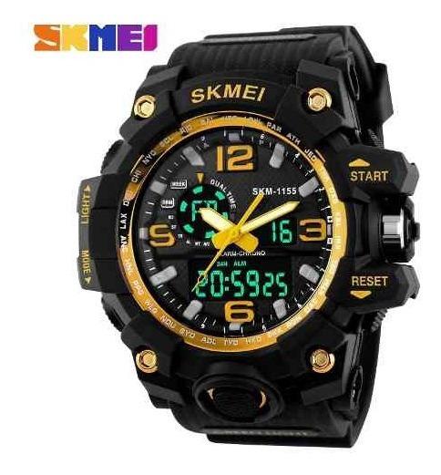 Relógio Masculino Skmei 1155 Quartzo Digital Analógico