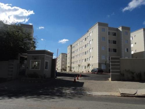 Apartamento Com 2 Dormitórios À Venda, 42 M² Por R$ 170.000,00 - Condomínio Parque Sicília - Votorantim/sp - Ap2993